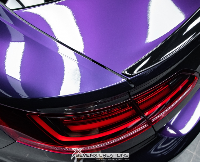 VW Arteon Inozetek midnight Purple Wrap 17