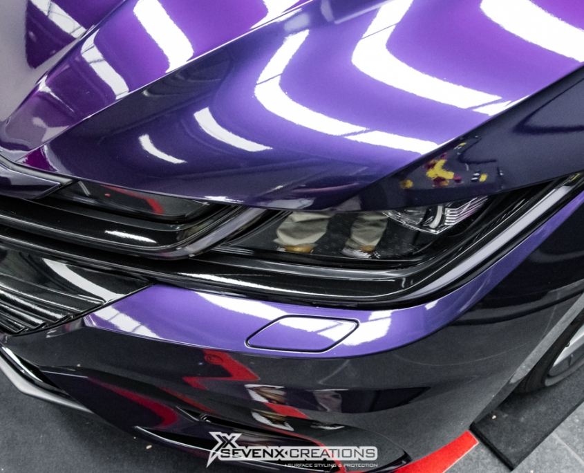 VW Arteon Inozetek midnight Purple Wrap 19