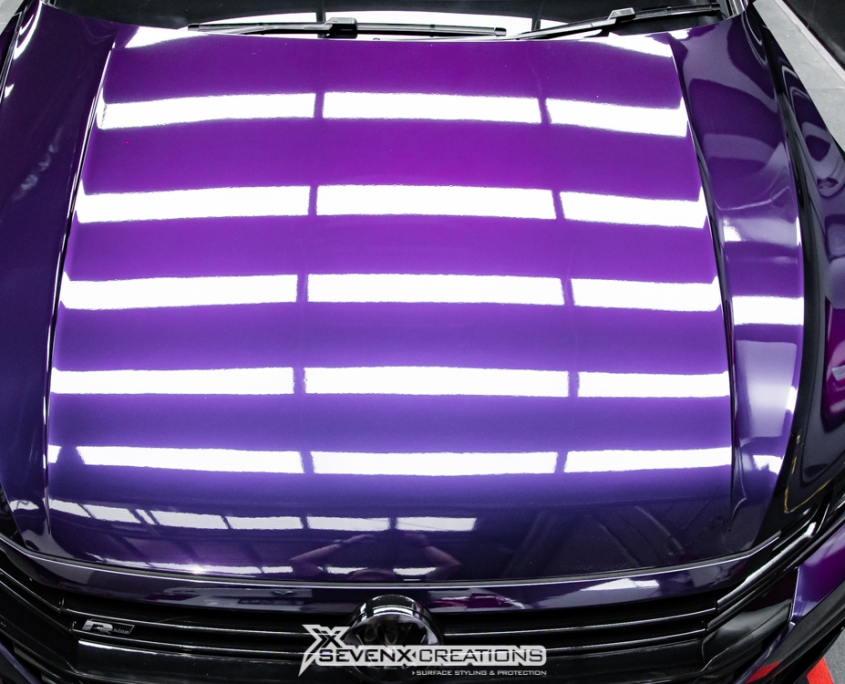 VW Arteon Inozetek midnight Purple Wrap 23