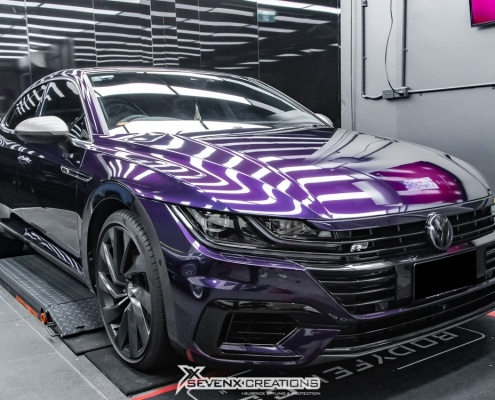 VW Arteon Inozetek midnight Purple Wrap 24 e1592202925858