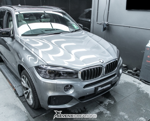 BMW X5 Stek Dyno Smoke headlight tint 12