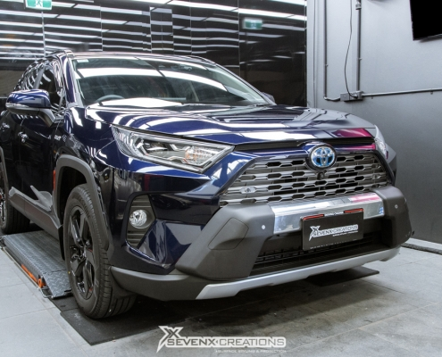 Toyota RAv4 Suntek Ultra gloss ppf full car wrap 5