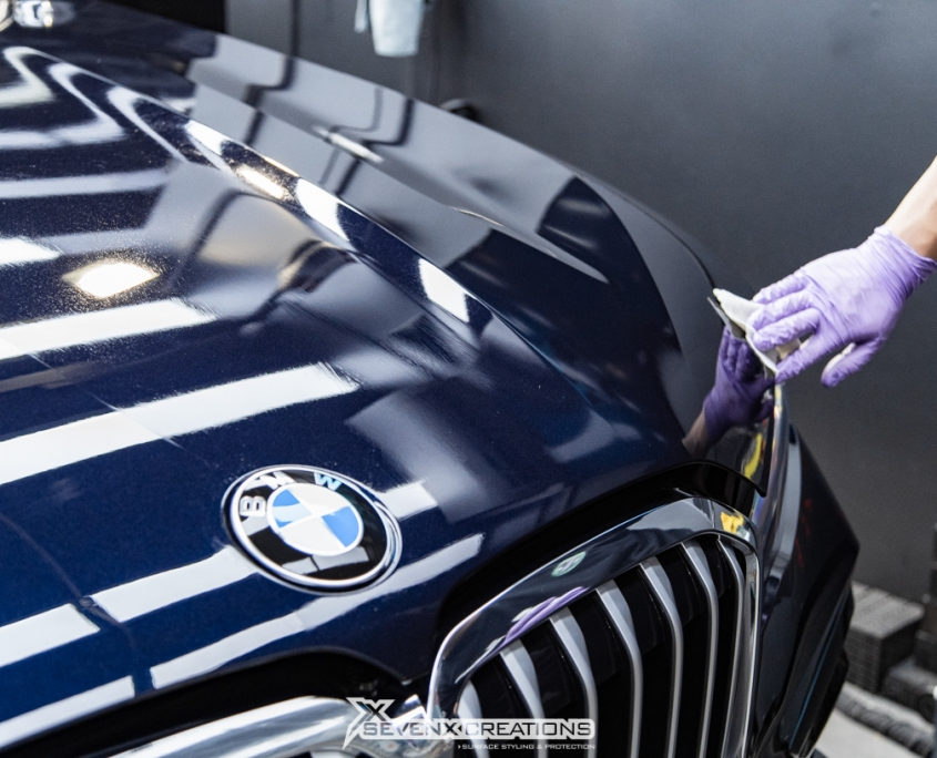 BMW x Pomponazzi x real glass coating