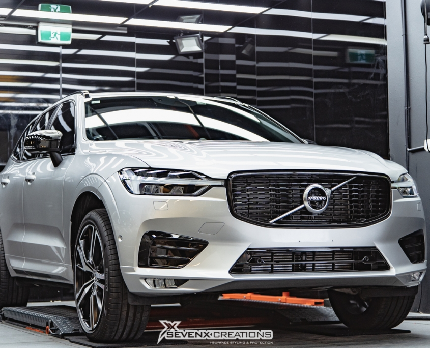Volvo xc pomponazzi x real glass coating