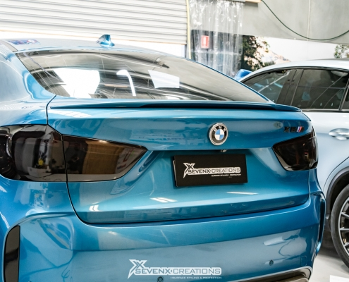 Merdecedes GLe BMW X Taillight tint