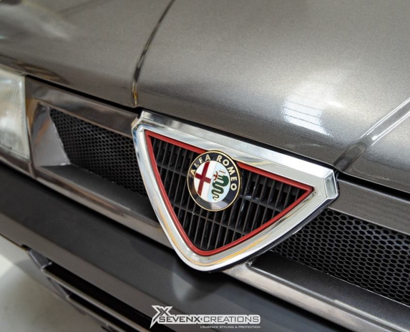 ALfa Romeo Gloss Charcoal Wrap