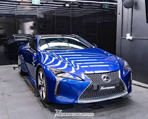 Lexus LC Full Cehicle PPF Hexis Bodyfence X