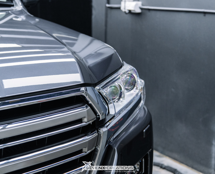 Toyota Land Cruiser Full Front PPF Bodyfence X and Pomponazzi xx tuned web